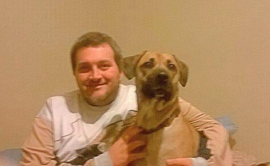 Lost Dog and Dad