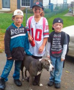 Pit bull and kids